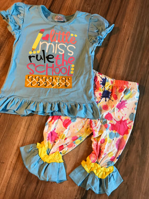 Little Miss Rule the School Outfit