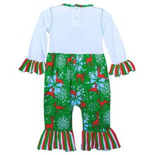 Load image into Gallery viewer, Christmas Snowflake Romper