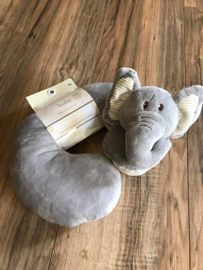 KellyBaby Elephant Travel Neck Support Pillow