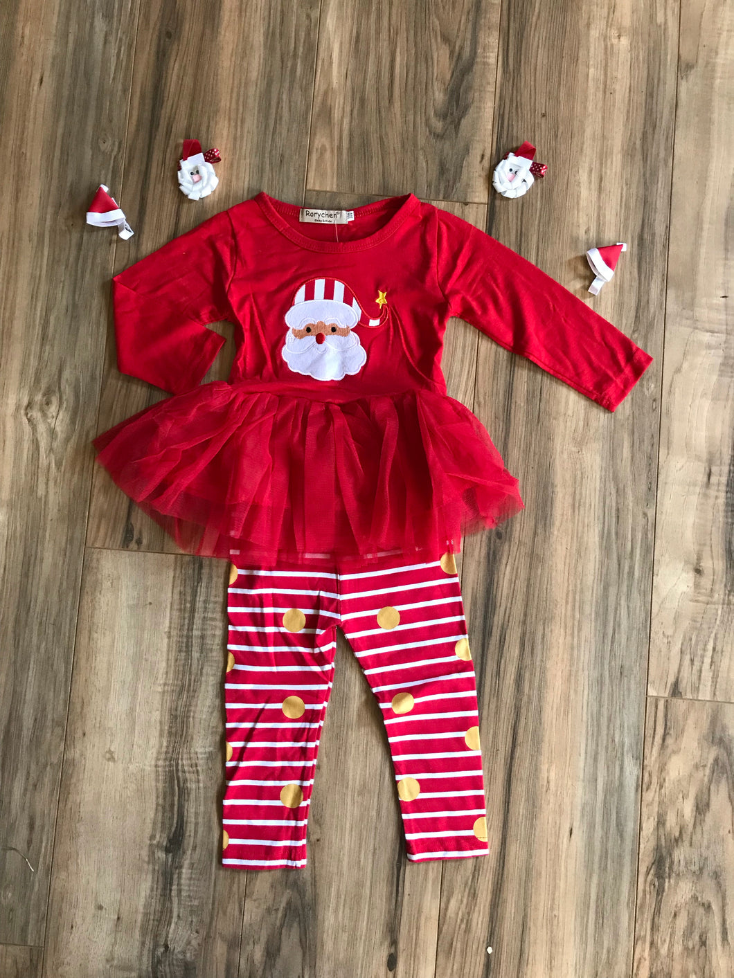 Santa Christmas Holiday Outfit