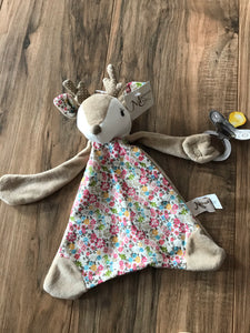 Farrah the Fawn Paci-holder Baby Blanket