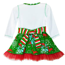 Load image into Gallery viewer, Christmas Snowflake Dress & Legging Set