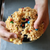 Peanut Butter and M&M Rice Krispie Treat