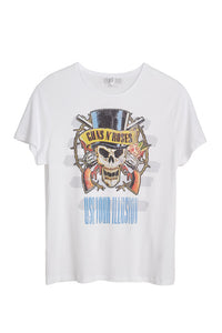 Guns N' Roses Skull Print Men's T-Shirt