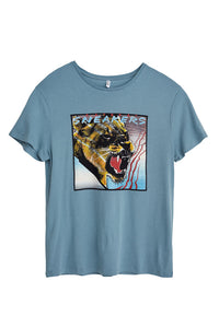 "Sneakers ""Katbeat"" Blue Men's T-shirt"