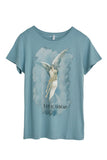 "Love Shop ""Frelsens Hær"" Blue Women T-shirt"