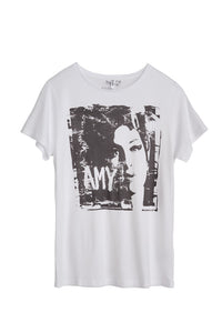Amy Winehouse Print Women's T-Shirt