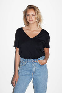 RAW oversize V-neck T-shirt