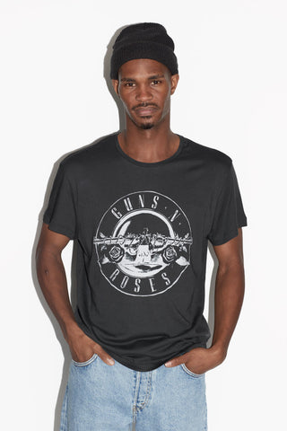 Guns N' Roses Logo Men's Grey T-shirt