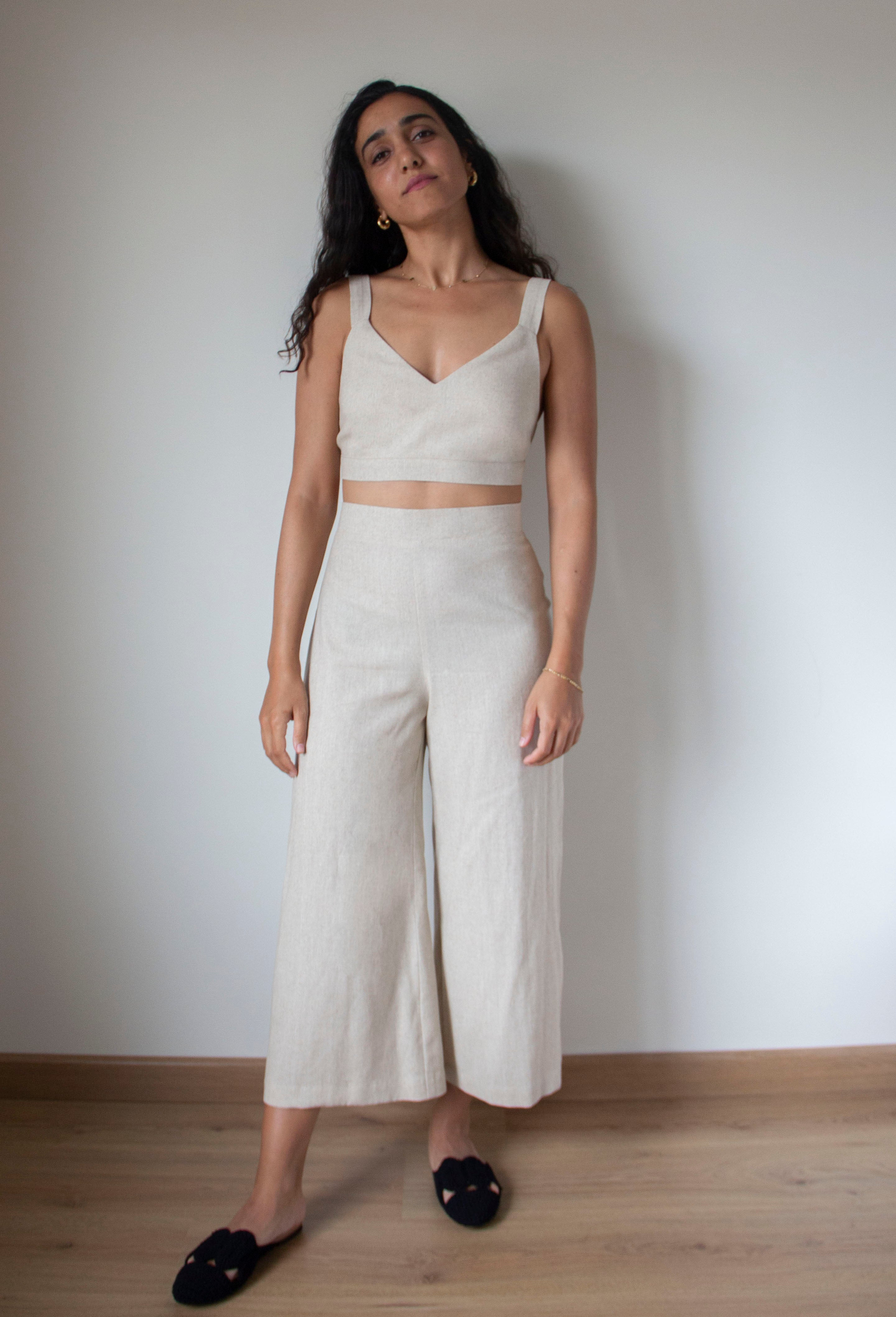 The Beige Culottes