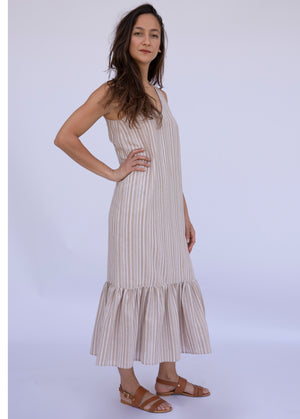 Lisa's Linen Striped Dress