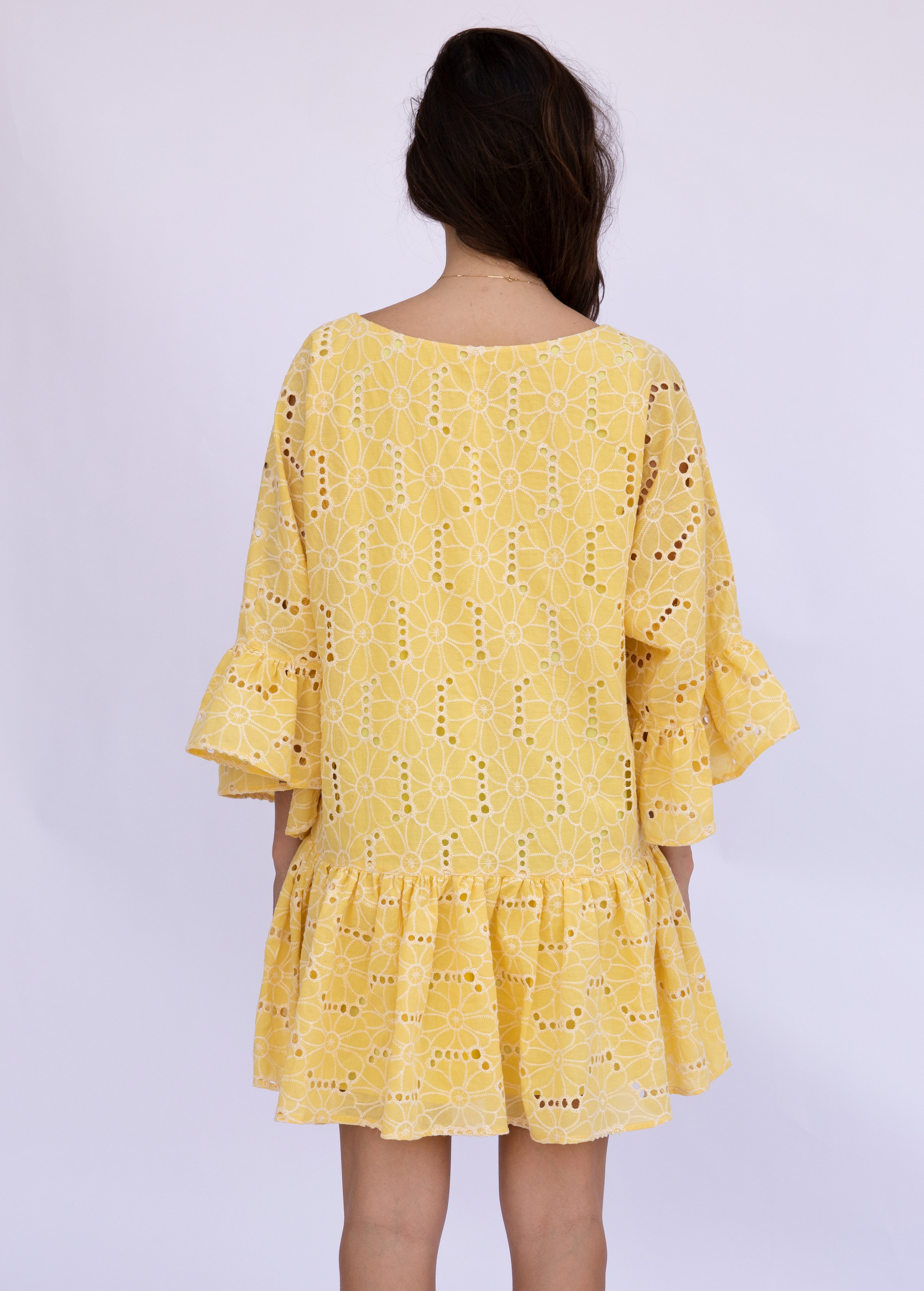 Sunshine Embroidery Dress