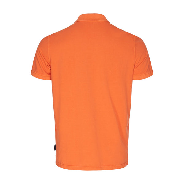Andre Short Sleeve Polo - Harvest Pumpkin