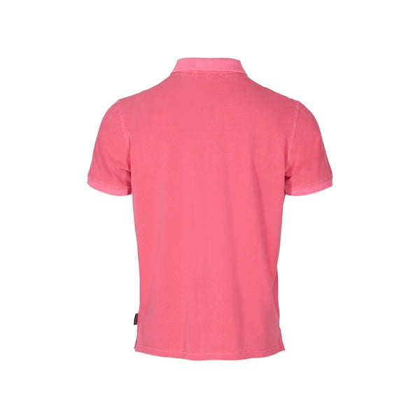 Andre Short Sleeve Polo - Carmine Rose