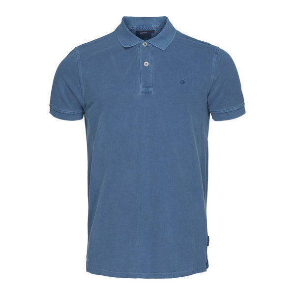 Andre Short Sleeve Polo - Ensign Blue