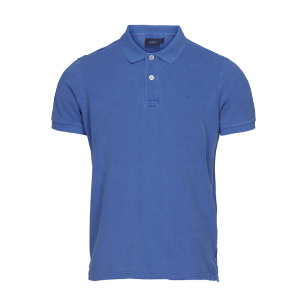 Andre Short Sleeve Polo - Bright Blue