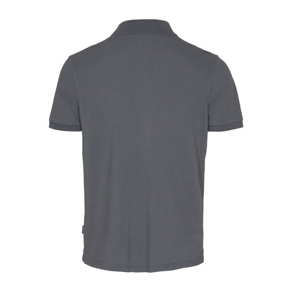 Andre Short Sleeve Polo - Dark Grey