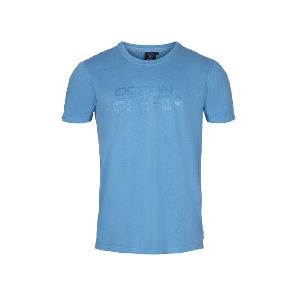 Asker Short Sleeve Tee - Blue