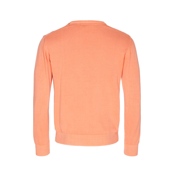 Atilla Long Sleeve Knit - Bright Marigold
