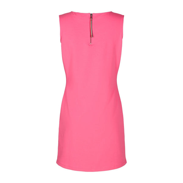 Brittany Solid Sleeveless Dress - Pink Lemonade