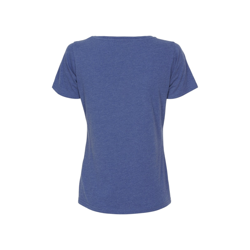 Chia Organic cotton logo tee - Twilight Blue