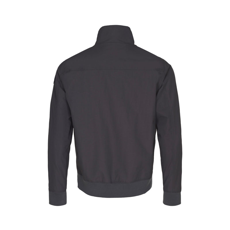 Constantin Zip Jacket - Dark Grey