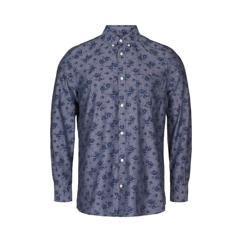 Elton Printed Long Sleeve Shirt