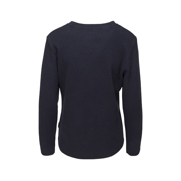 Farida Long Sleeve Sweatshirt - Navy