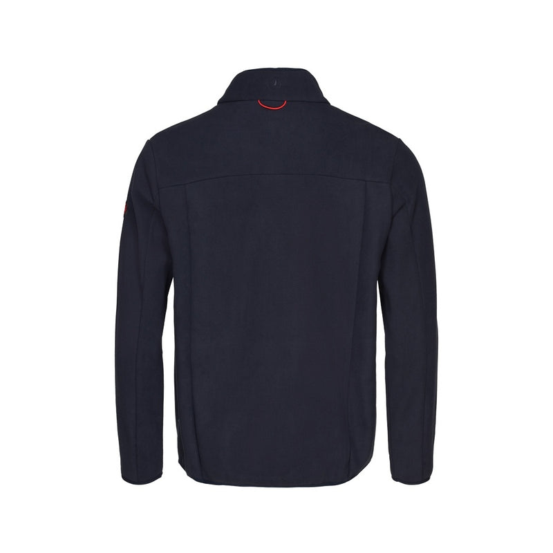 Harris Long Sleeve Fleece Zip Jacket - Dark Navy