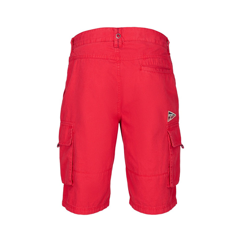 Jeffery Knee length Shorts - SR Red