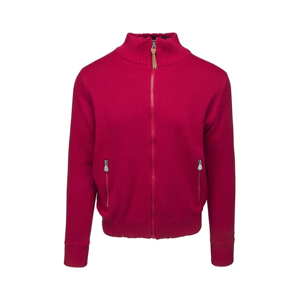 Julius Zipped Windbreaker - Red
