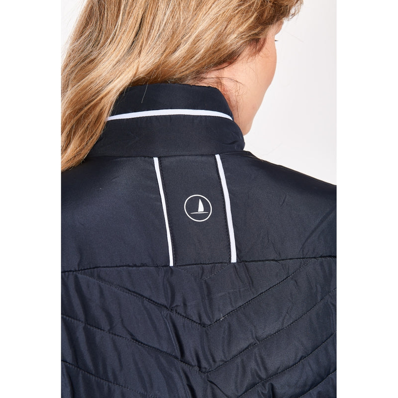 Lecia Sporty Padded Jacket - Dark Navy