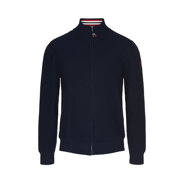 Marinus Windbreaker Knit - Dark Navy
