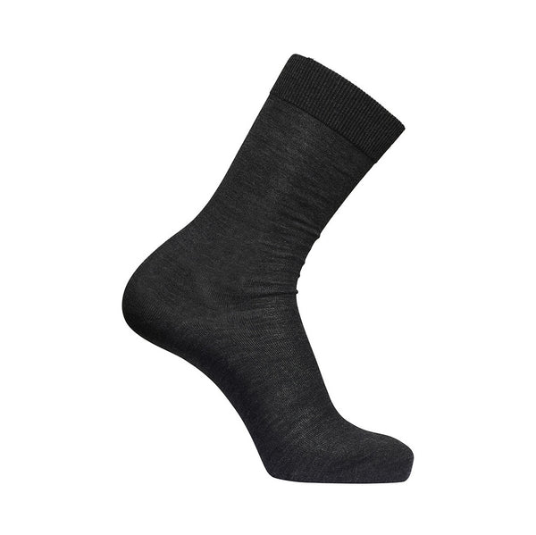 Merino Wool Socks - Dark Grey Melange