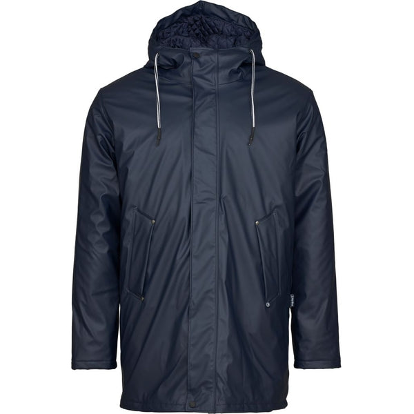 Nick Padded Raincoat - Dark Navy