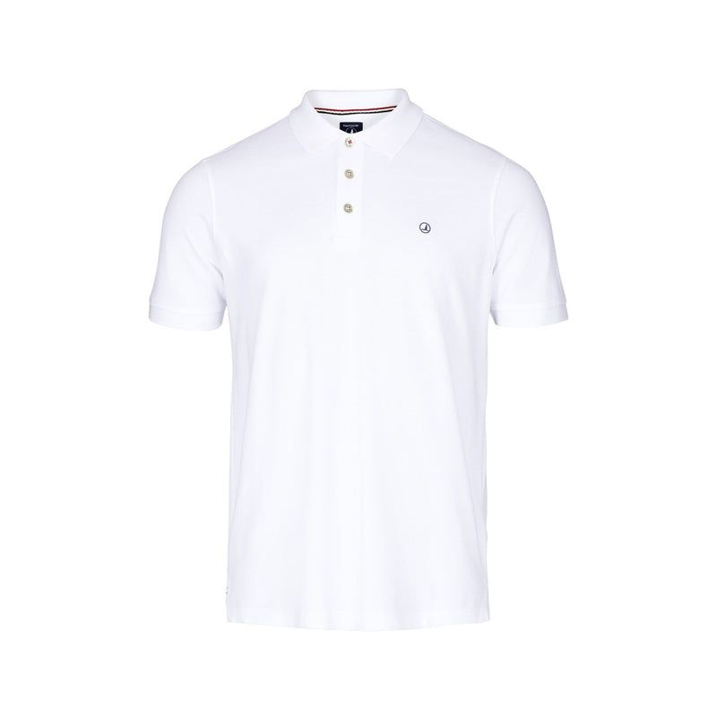 Pembroke Short Sleeve Polo - White
