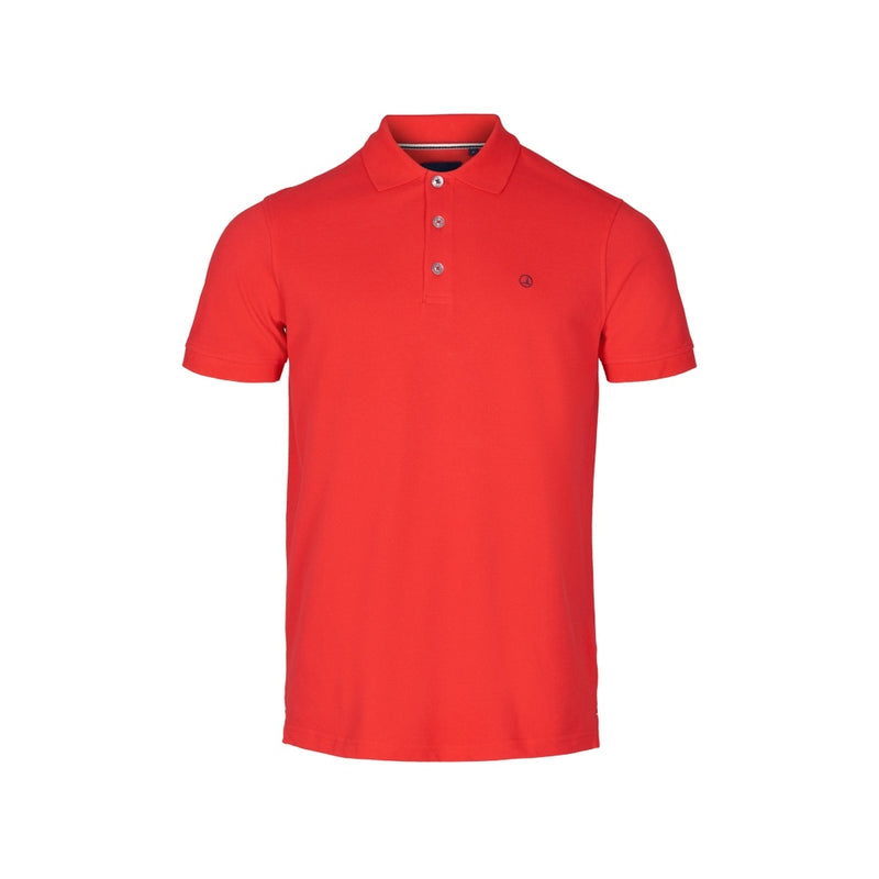 Pembroke Short Sleeve Polo - True Red