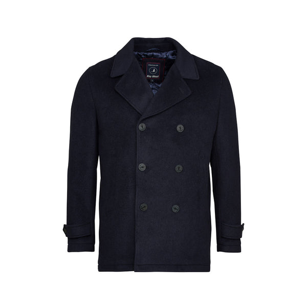 Robin Pea Coat - Dark Navy