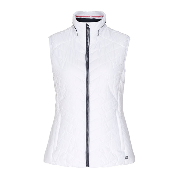 Savannah Light Weight Vest - White