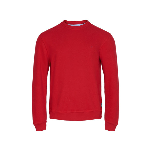 Winston Long Sleeve Sweatshirt - Strong Red