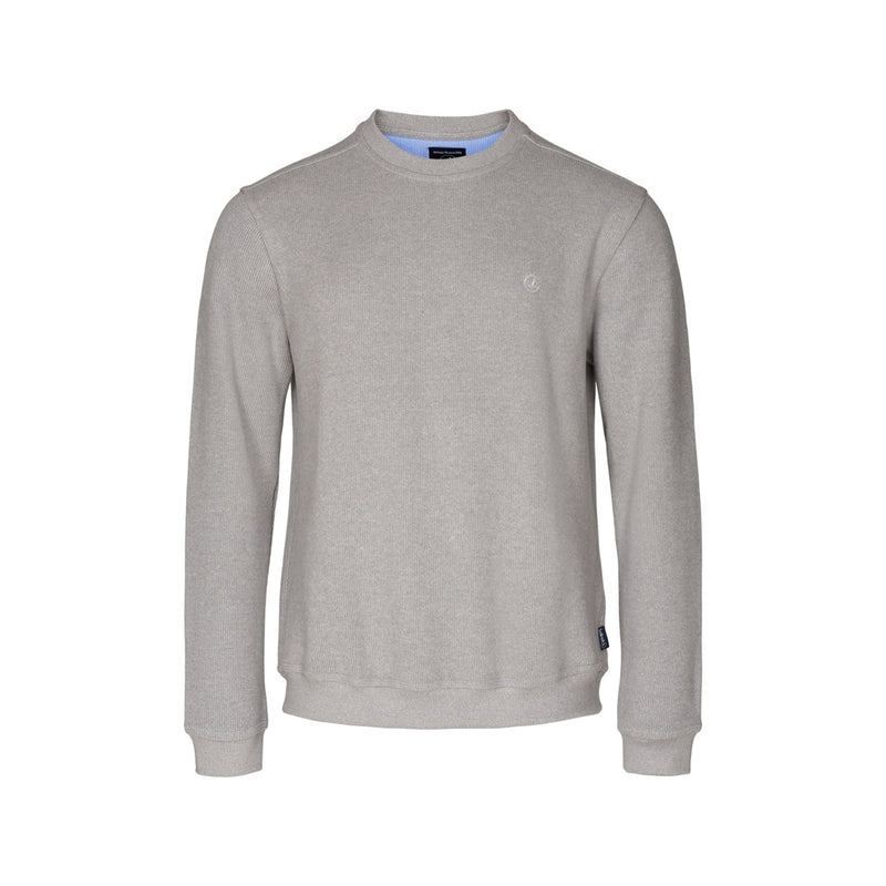 Winston Long Sleeve Sweatshirt - Grey Melange