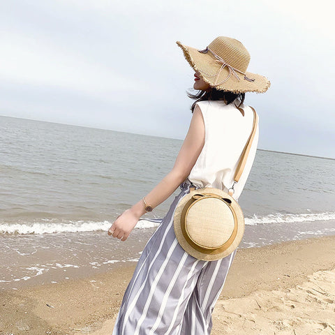 Jane Hat Shape Straw Bag
