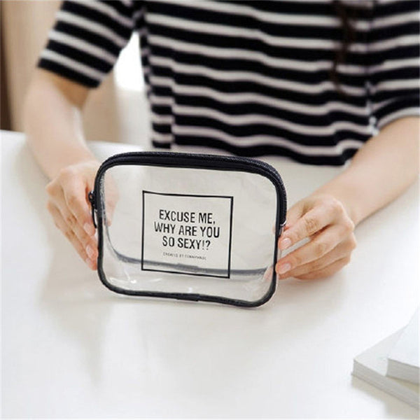 Excuse Me, Why Are You So Sexy? Waterproof Cosmetic Bag