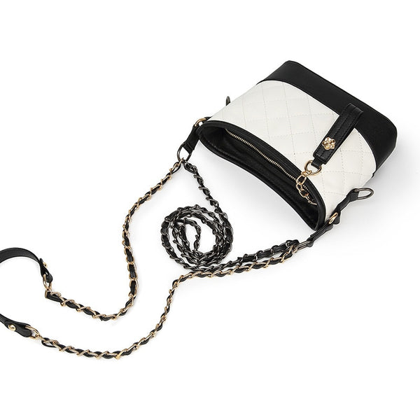 Cushion Style Handbag with Tassel