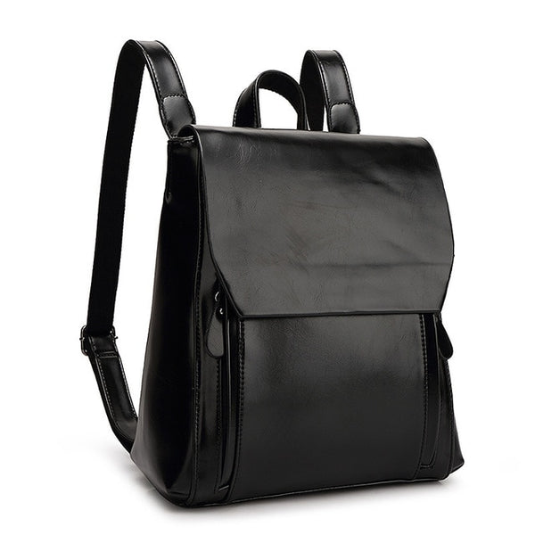 Trudie Faux Leather Backpack