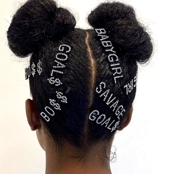 Goal$ Statement Hair Ornament