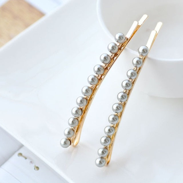 Destiny Faux Pearl Hair Pins
