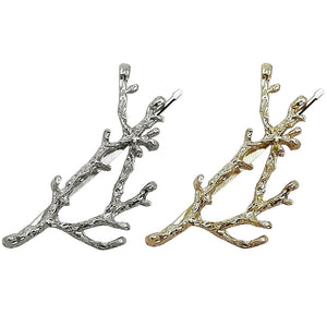 Silver or Gold Tree Branch Hairpin (1 Piece)