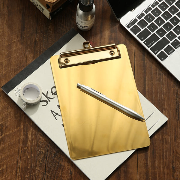 Maxine Gold Writing Clipboard