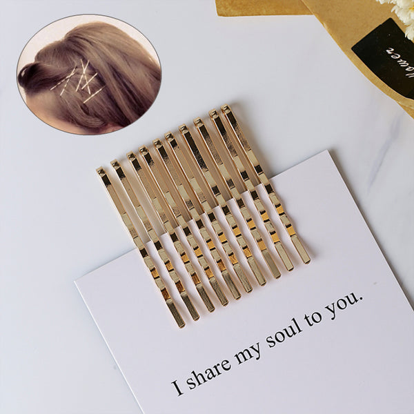 10 Piece Gold Bobby Pins